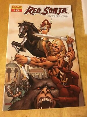 Red Sonja #12, Red Foil Variant from Dynamite Comics!! NM!  Save on Ship!!