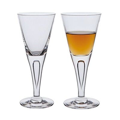 Dartington Sharon Sherry Glass, Clear, Pack of 2