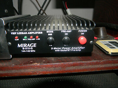 HAM RADIO,, MIRAGE B310G 2 Meter Power Amplifier, Vhf Linear Amplifier