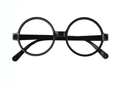Book Week Black Glasses Adult Kids Harry Potter Wally Cosplay Costume Accessorie