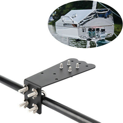 Quick Release Rail Grill Mount Bar Barbecue Marine Grill Mount Adapter Black