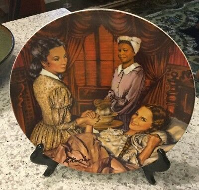 Gone With The Wind Knowles Collector Plate