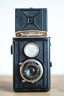 Voigtlander Brillant TLR Camera with Skopar 7,5cm f4.5 Lens