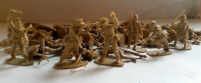 Mixed Lot of Solpa 1/32 Afrika Korps & Japanese Infantry figures (Airfix copies)
