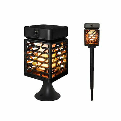 Petrala Solar Lights Outdoor Torch Light Dancing Flickering Flames Waterproof...