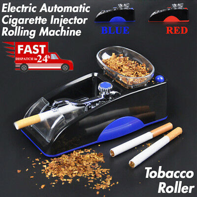 🔥DIY Electric Automatic Cigarette Injector Rolling Machine Tobacco Maker Roller