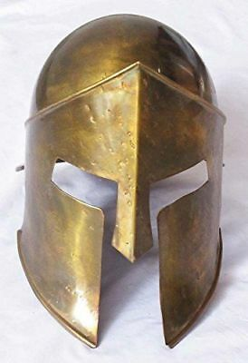 300 Movie Spartan Medieval Halloween Christmas Gift Brass Antique Roman Helmet
