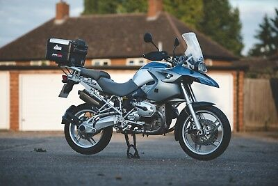 BMW R1200GS With FULL Vario luggage