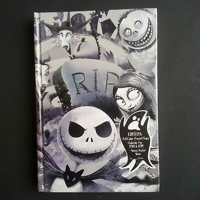 Disney~Tim Burton's The Nightmare Before Christmas Journal Calendar NEW