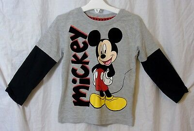 Disney Mickey Mouse Dungaree Set for Baby Size 12-18 MO Multi