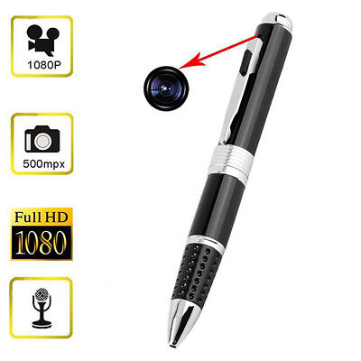 PENNA SPIA MICROSPIA VIDEOCAMERA NASCOSTA 1080P HD SPY PEN CAM DVR Video
