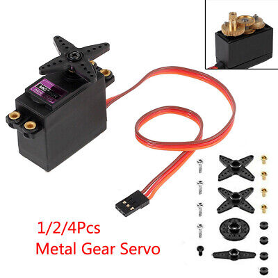1/2/4 MG996R Metal Gear Torque Digital Servo For Futaba RC JR Airplane CarTruck