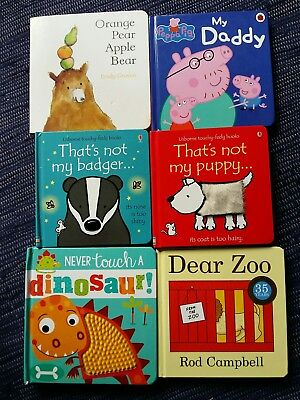 Baby board books bundle -some of the best!
