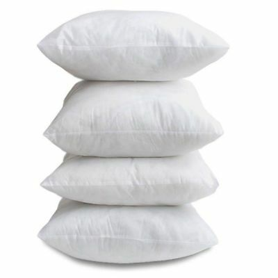 """Handmade PACK OF 4 18"""" x 18"""" Cushion Inners Pads Inserts Extra Filled ~ FREE P&P"""