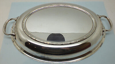 Vintage Silver plated serving dish plate EPNS