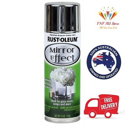 Rust-Oleum Specialty Mirror Effect Spray Paint 170g. Aus Stock