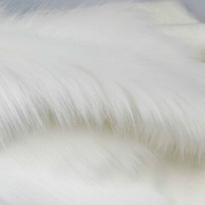 Luxury Long Haired Faux Fur Fabric Pile Plush Fluffy Clothes Display Background