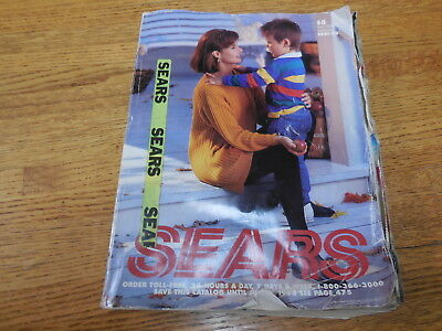 Vintage Sears Roebuck Catalog 1991 - 1992 Fall Winter, good condition.