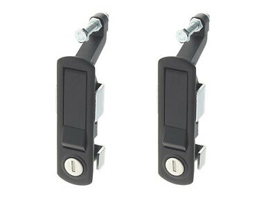 2 x Compression Latch Lever Trigger Lock Locker Horsebox Trailer C2 Locking
