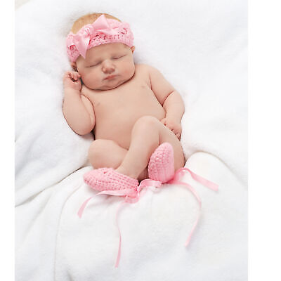Clothing, Shoes & Accessories Supply Ensemble Chaussons Et Bandeau Bébé 3 Mois En Cachemire Rose Pétale
