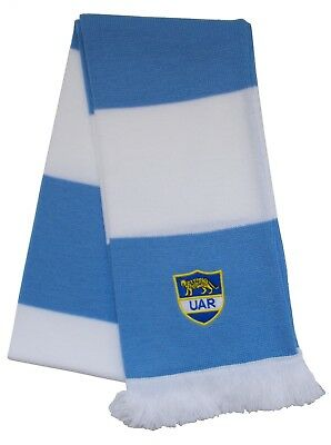 Argentina Rugby Embroidered Bar Scarf