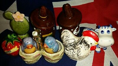 Vintage Collection of Salt & Pepper Shakers