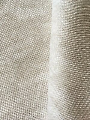 Vintage Sand Dune marbled 25 count Zweigart Lugana even weave fabric 50 x 70 cm