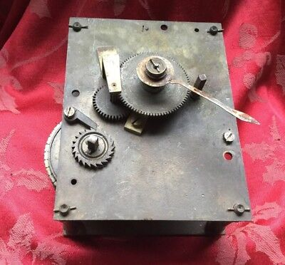 Fusee Wall Clock Movement With Chain Made In England