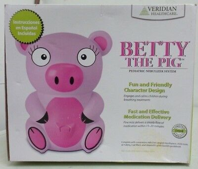 Veridian Healthcare Pediatric Nebulizer System Betty The Pig