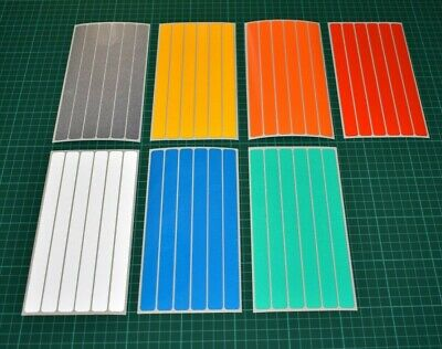 Reflective Strip Stickers for Motorbike Cycle Safety - Hi-vis High Visibility