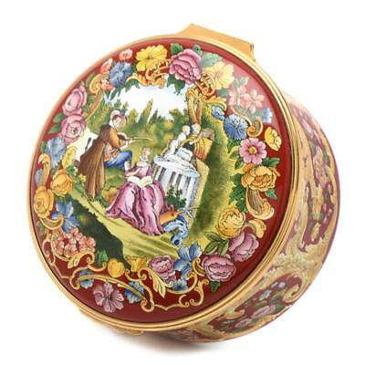 Halcyon Days Limited Edition Rachmaninoff Enamel Music Box NO RESERVE