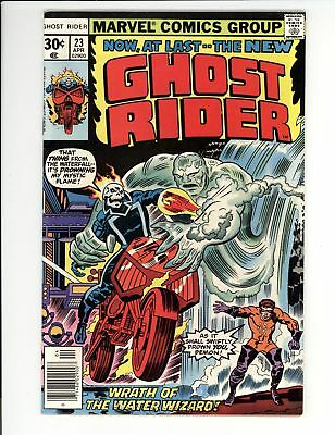 Ghost Rider (1973) #23 VF 8.0 First Appearance of the Water Wizard