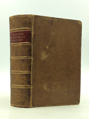 THE BIOGRAPHICAL TREASURY by Samuel Maunder - 1851 - History - Reference