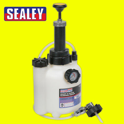 VS820 Brake / Clutch Bleeding System Fluid Bleed Tool 2.5 ltr Bleeder New Sealey