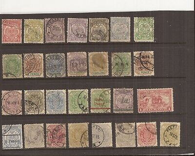 Transvaal  29 Stamps Used