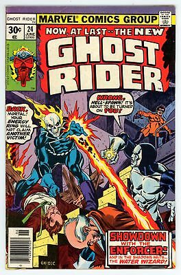 Ghost Rider (1973) #24 FN+ 6.5 Vs the Enforcer