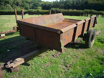 3.5ton tipping trailer for farm tractor
