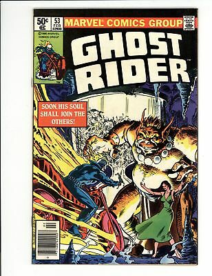 Ghost Rider (1973) #53 VF/NM 9.0 Vs Tabicantra