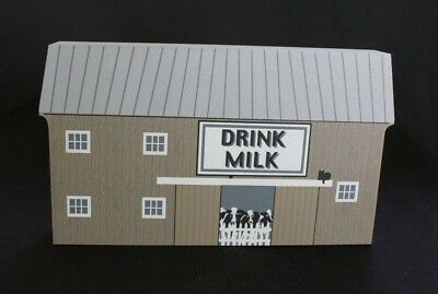 The Cat's Meow: America's Back Roads Series II - Drink Milk Barn 2000 signed