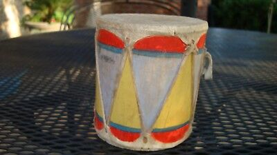 Cochiti -Pueblo- native american- paint decorated  Cochiti drum circa 1900