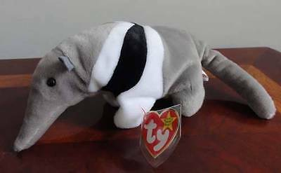 TY BEANIE BABIES BABY ANTS the ANTEATER MWMT DOB NOV. 7, 1997