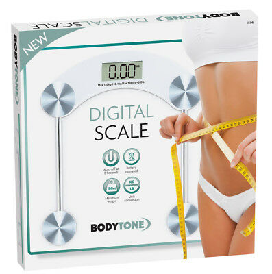 Digital Body Scale 150KG-180KG Weight Battery Operated LCD Digits Units KG/LB/ST
