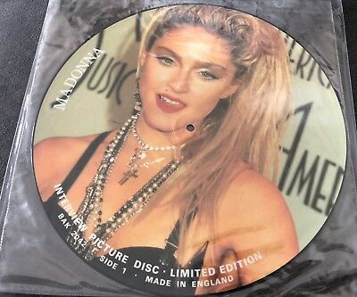 """Madonna - Interview Picture Disc - Limited Edition 12"""" Vinyl"""