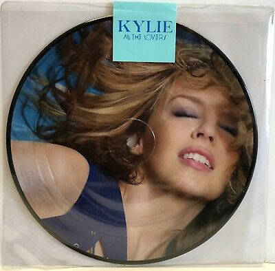 """Kylie Minogue  -  All The Lovers 7"""" Single Picture Disc Vinyl Limited Edition"""