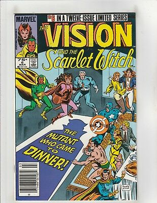 The Vision and the Scarlet Witch (1985) #6 VF 8.0 Marvel Comics Avengers