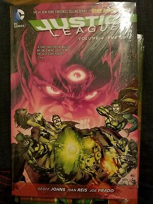 Justice League - The Grid Vol 4 by Geoff Johns 2014, Hardcover New 52 HC Dark