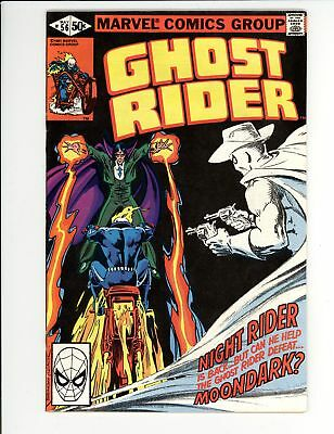 Ghost Rider (1973) #56 VF+ 8.5 Vs Moondark