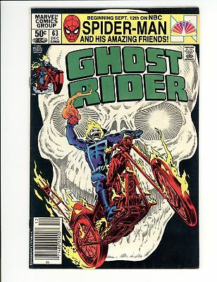 Ghost Rider (1973) #63 VF 8.0 Vs the Orb