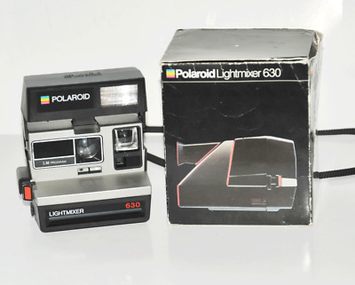 Polaroid 630  LM Lightmixer  mit  F14,6 / 109 mm