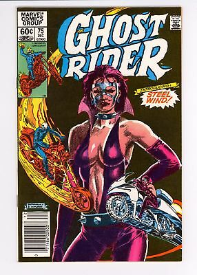 Ghost Rider (1973) #75 VF 8.0 First Appearance of Steel Wind